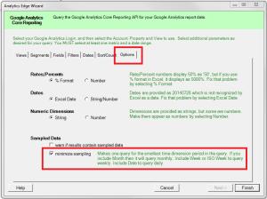 minimize-sampling-option