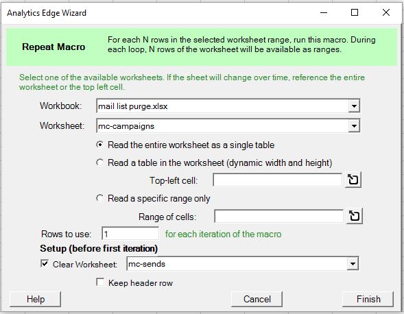 Using The Repeat Macro Function Analytics Edge Help. Worksheet. Worksheet Range Excel C At Clickcart.co